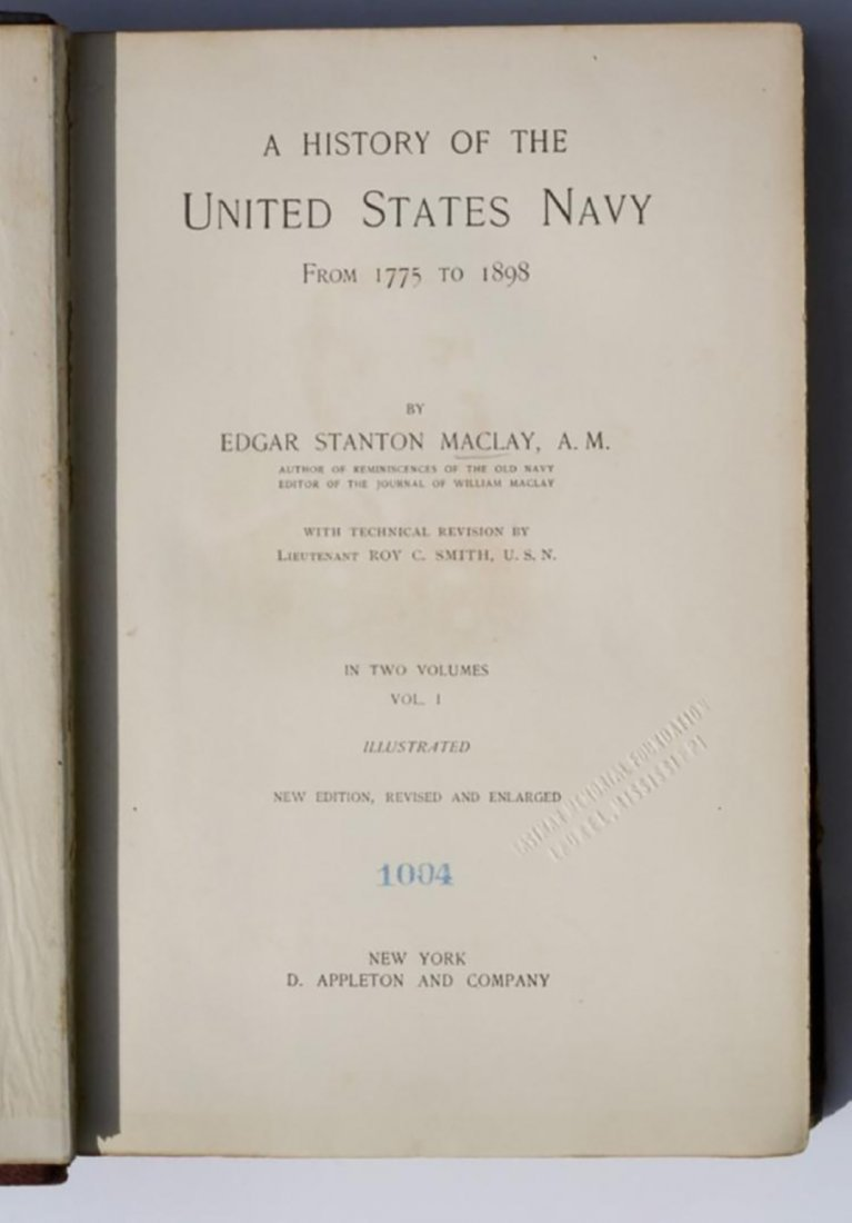 A History of the United States Navy from 1775 to 1898 - 2