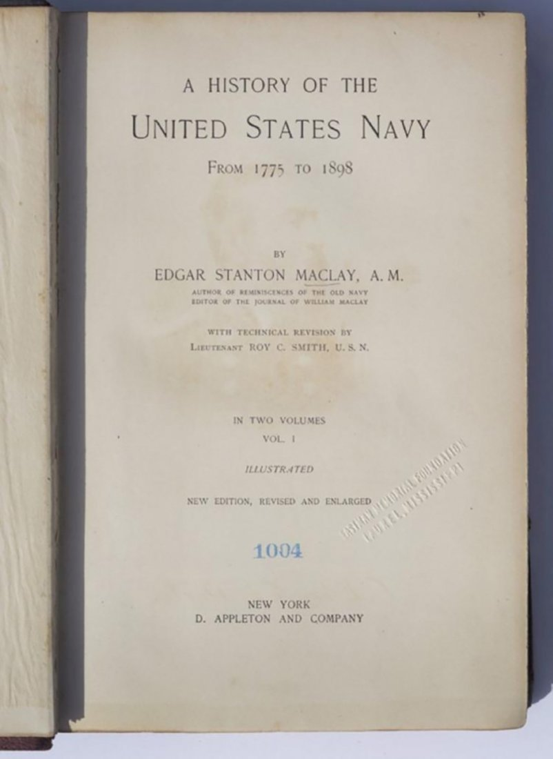 A History of the United States Navy from 1775 to 1898 - 4