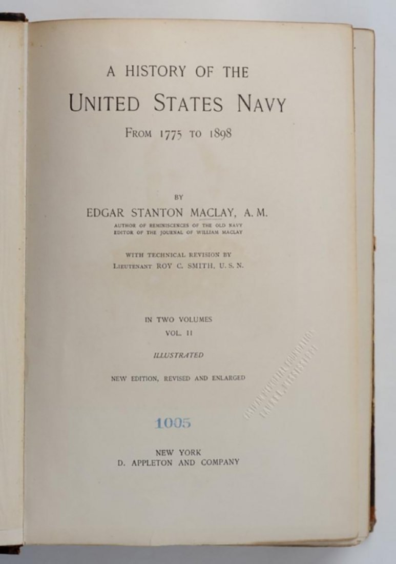 A History of the United States Navy from 1775 to 1898 - 8