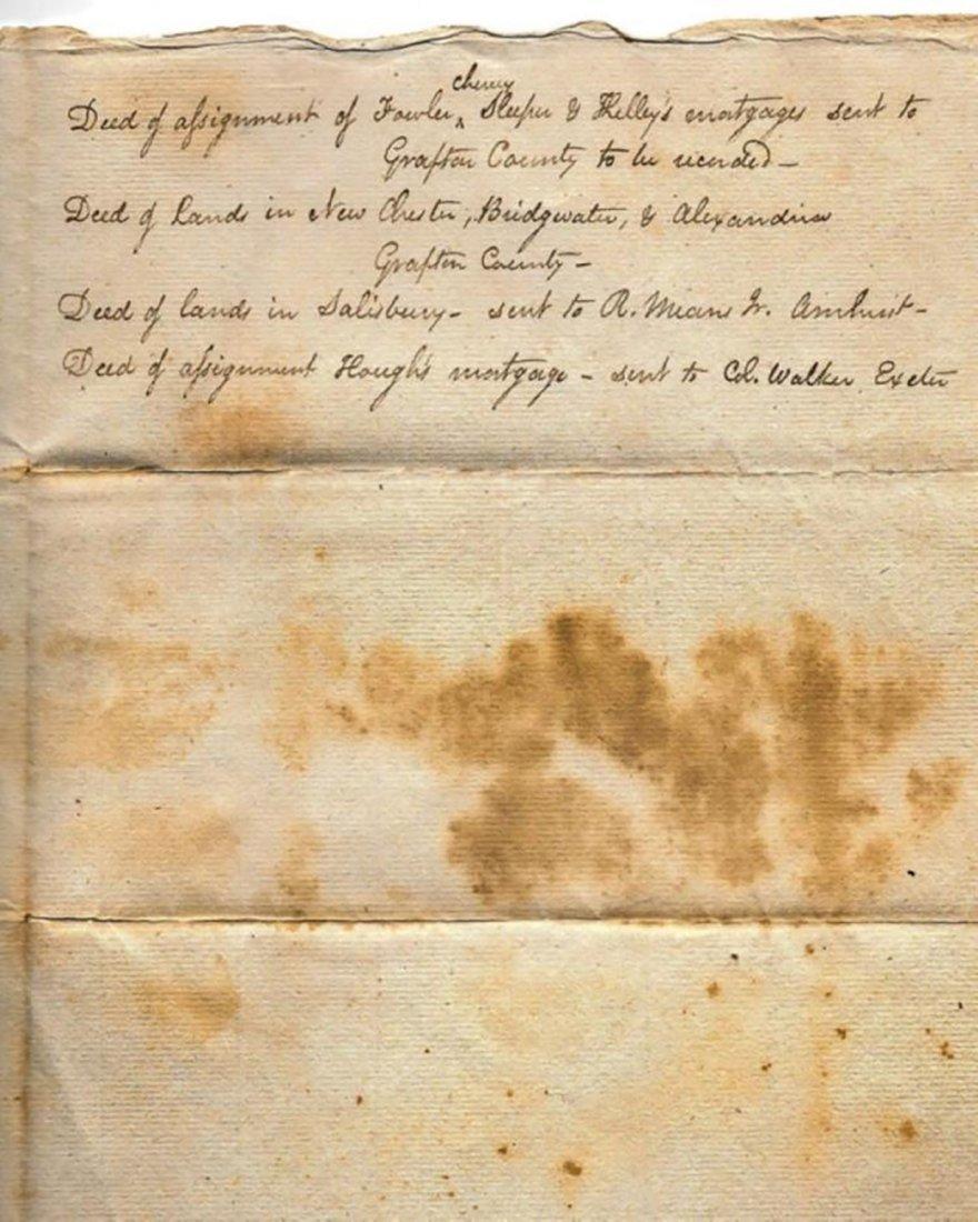Daniel Webster - Receipt for Deeds by Daniel Webster - 4
