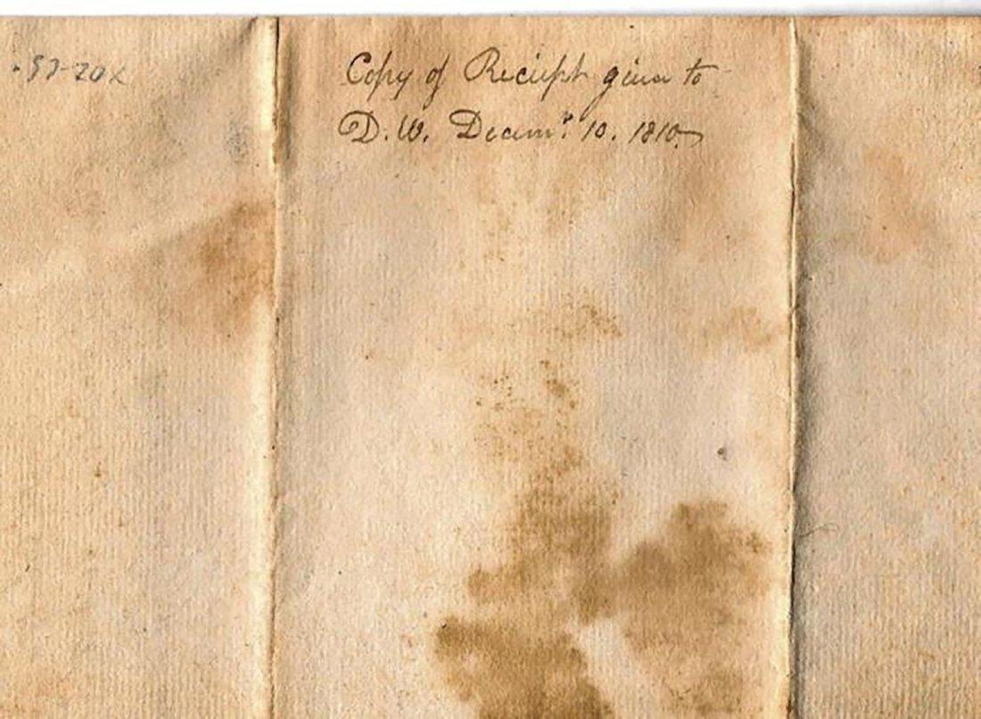 Daniel Webster - Receipt for Deeds by Daniel Webster - 5