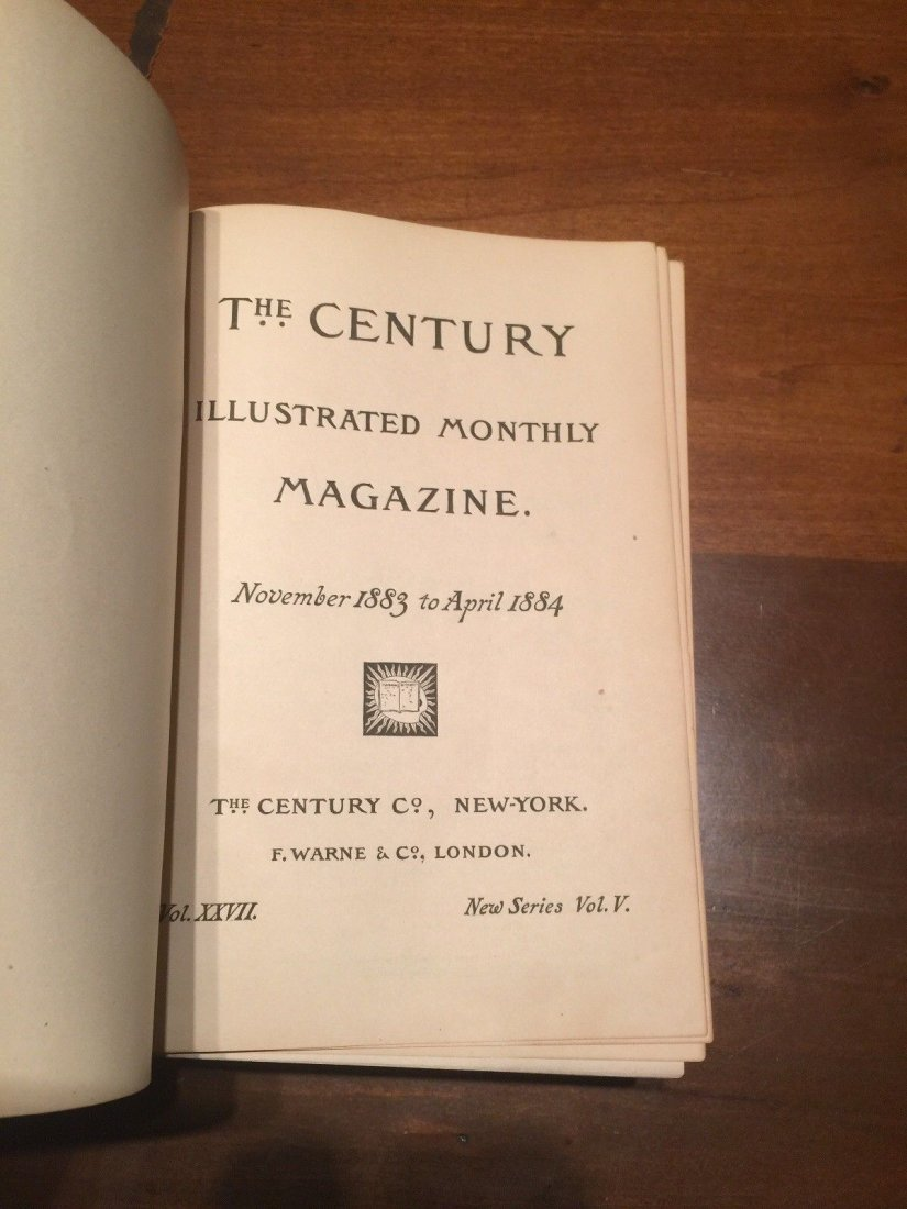 Leather Bound The Century Illustrated Monthly Magazine - 2