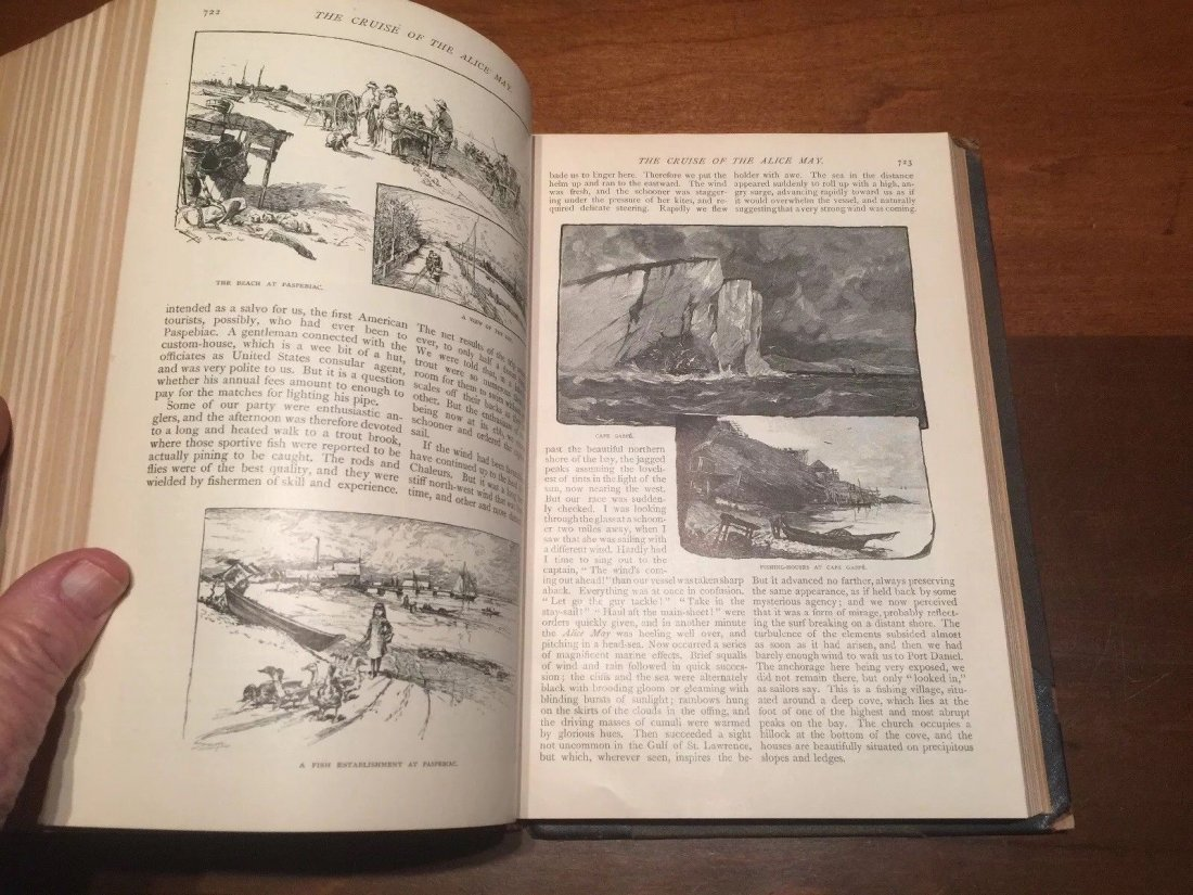 Leather Bound The Century Illustrated Monthly Magazine - 7