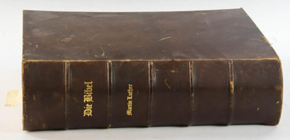 Large 19th Century Martin Luther Bible - 2