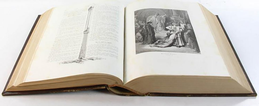 Large 19th Century Martin Luther Bible - 3