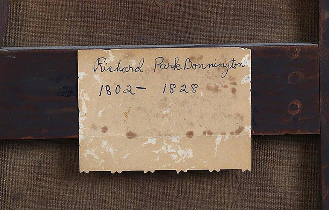 Original Richard Parkes Bonington Oil Painting - 4