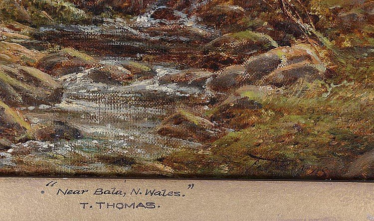Pair of 19th Century Thomas Henry Landscape Oil - 3