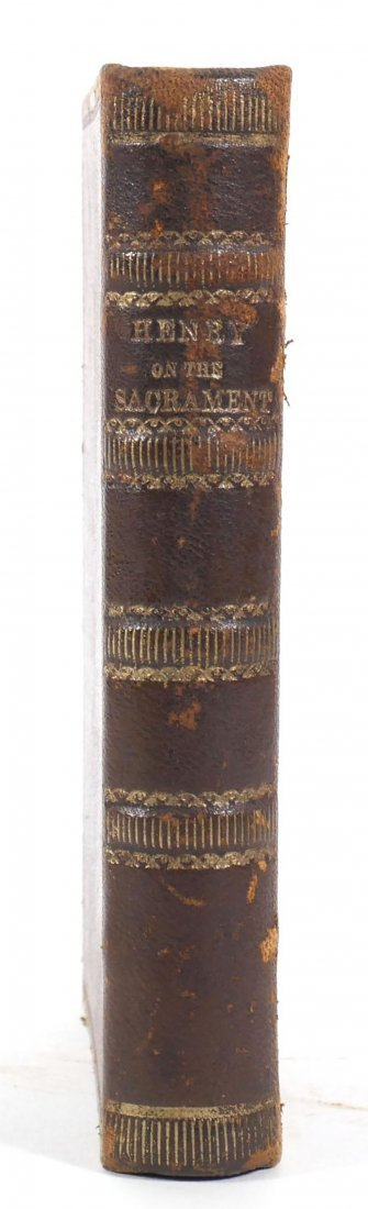 Rare First Edition of Mathew Henry's Important 1704
