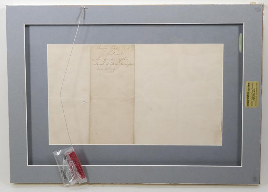 King George III Signed Document 1798 - 2