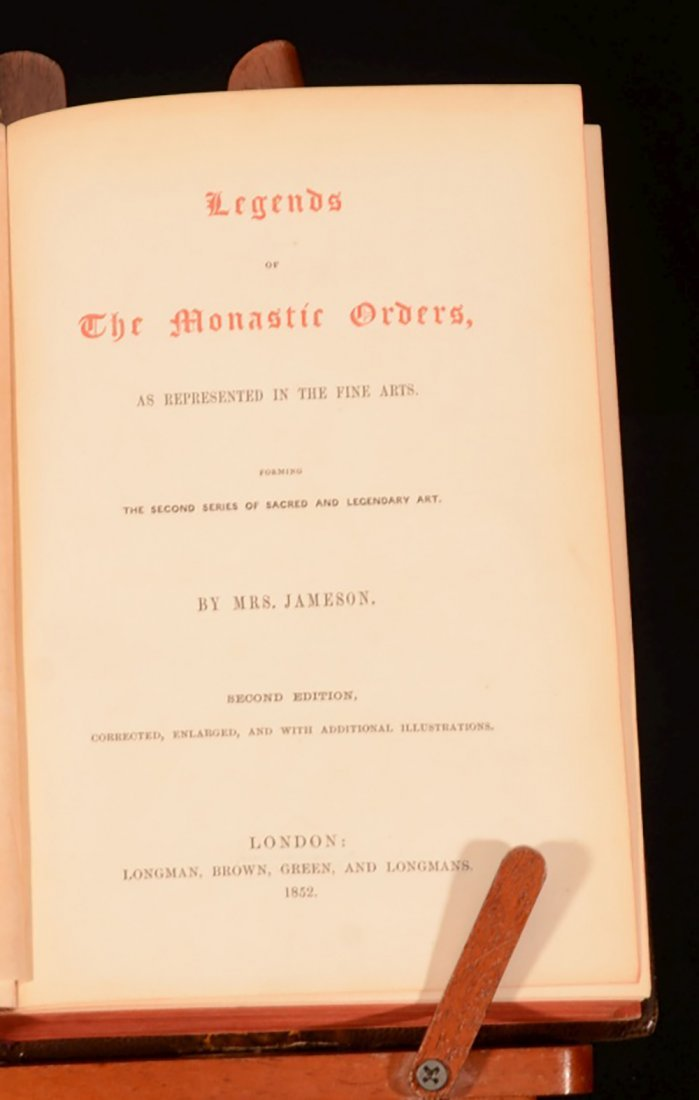 1852 Illustrated Legends of the Madonna Monastic Order - 4