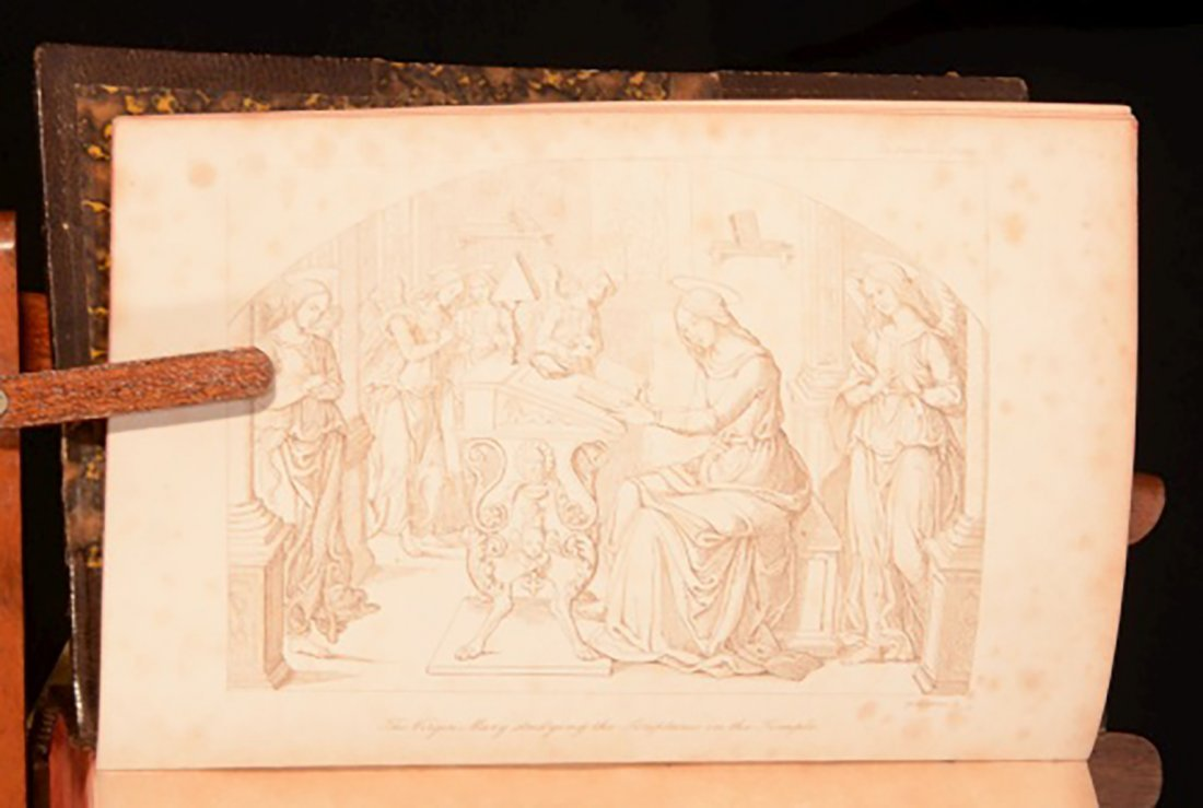 1852 Illustrated Legends of the Madonna Monastic Order - 6