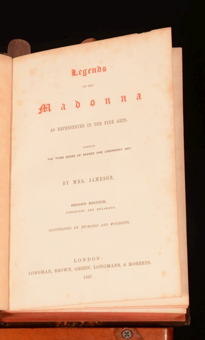 1852 Illustrated Legends of the Madonna Monastic Order - 7