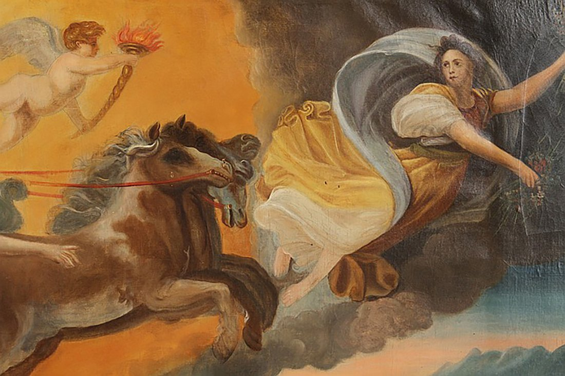 Monumental 18th Century Oil Painting After Guido Reni - 2