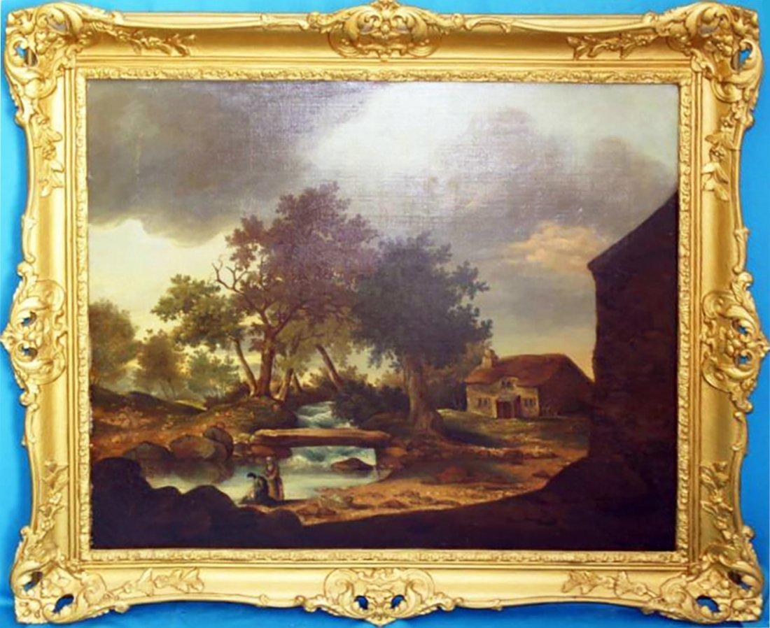 19th Century Landscape Oil Painting English School