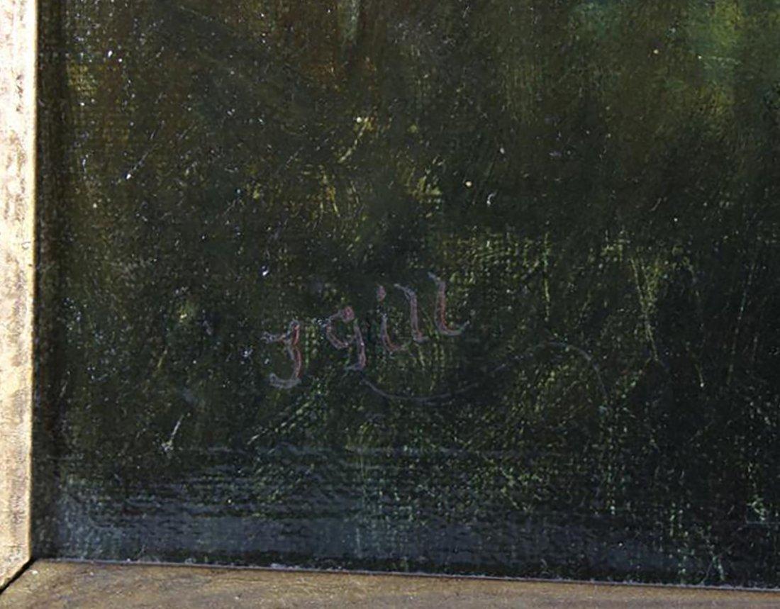 Thomas Watson Gill English Landscape Oil Painting - 4