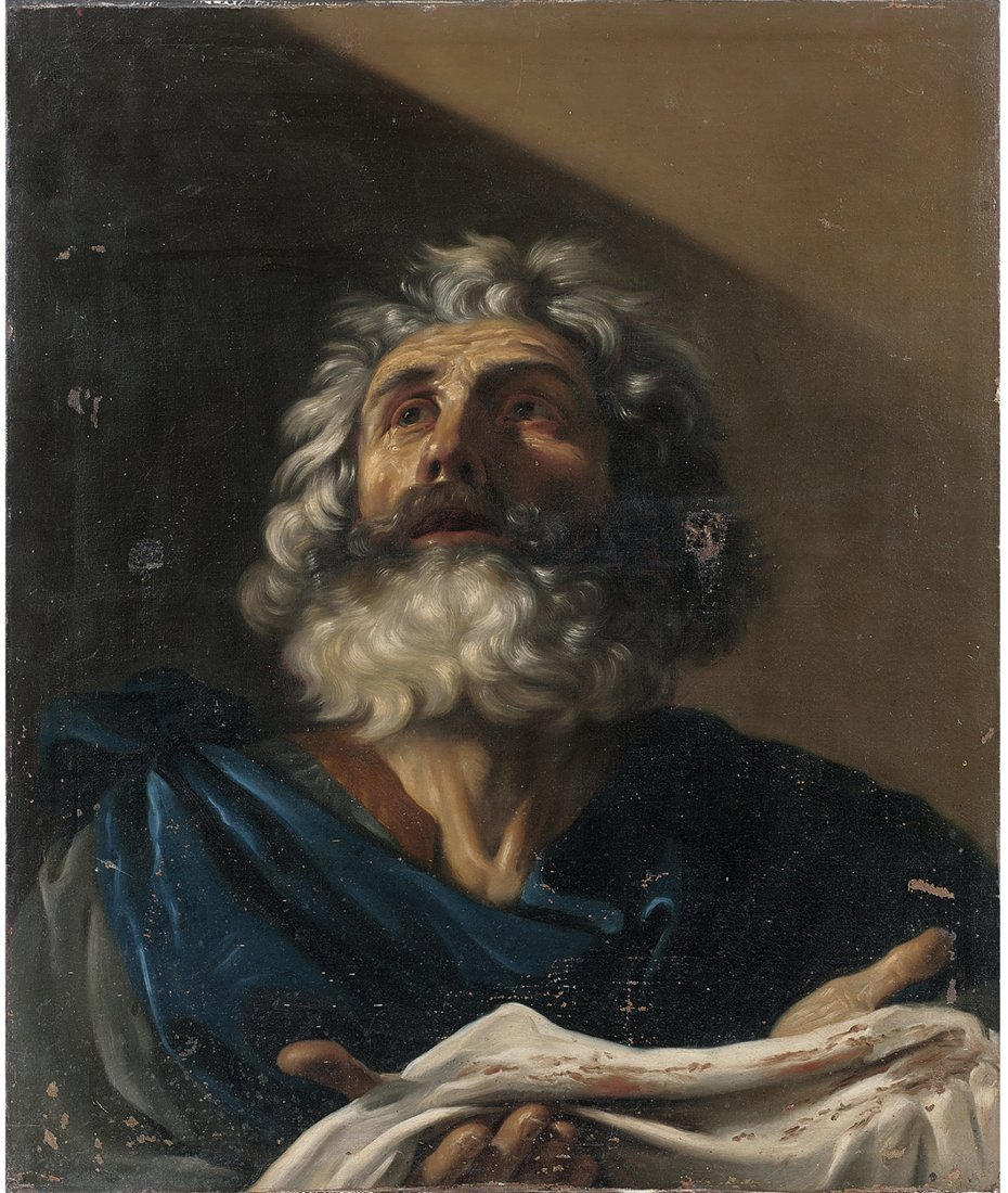 Italian School Oil Painting in the Manner of Guercino