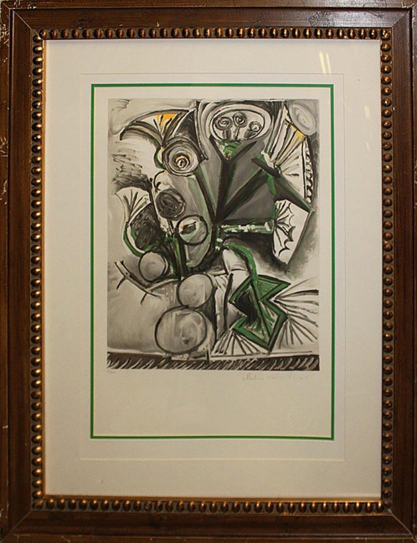 Pablo Picasso-Marina Picasso Lithographic Print