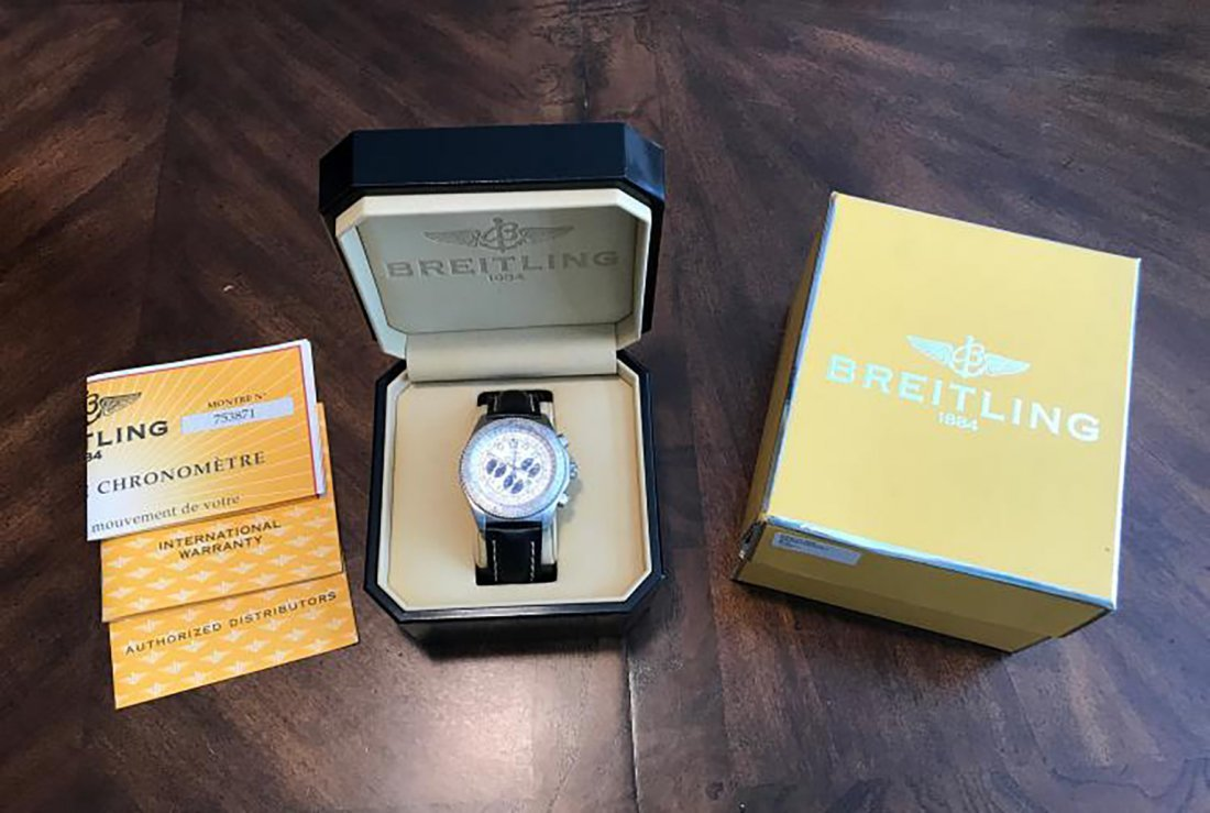 Breitling Navitimer Automatic Chronometer Watch - 6