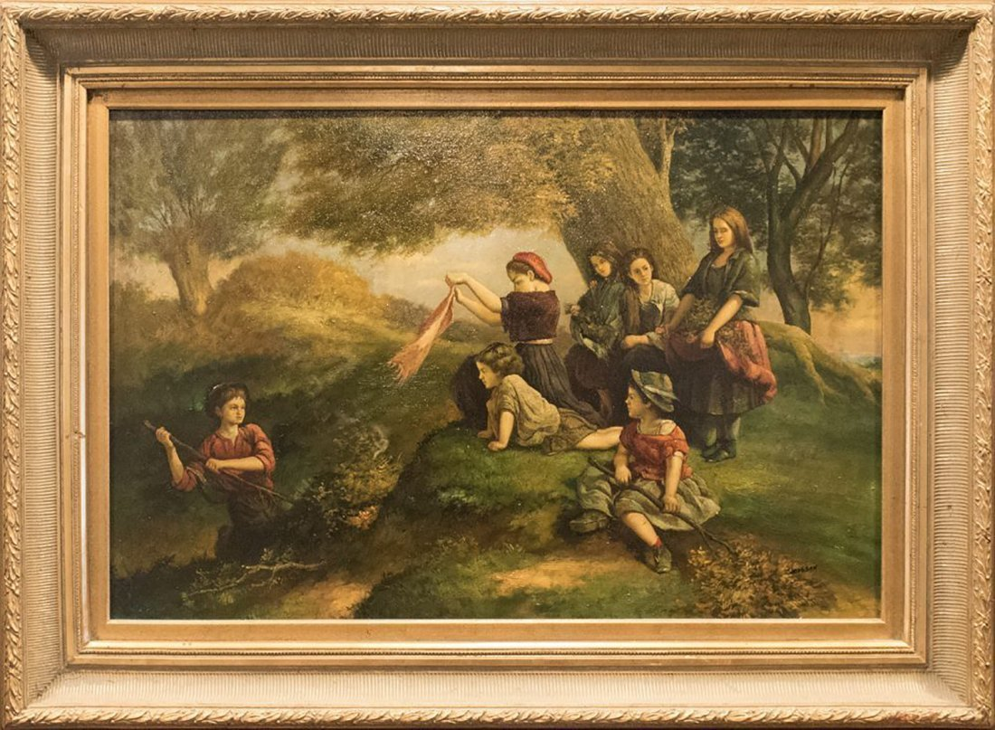 19th Century Oil painting by David Jacobsen