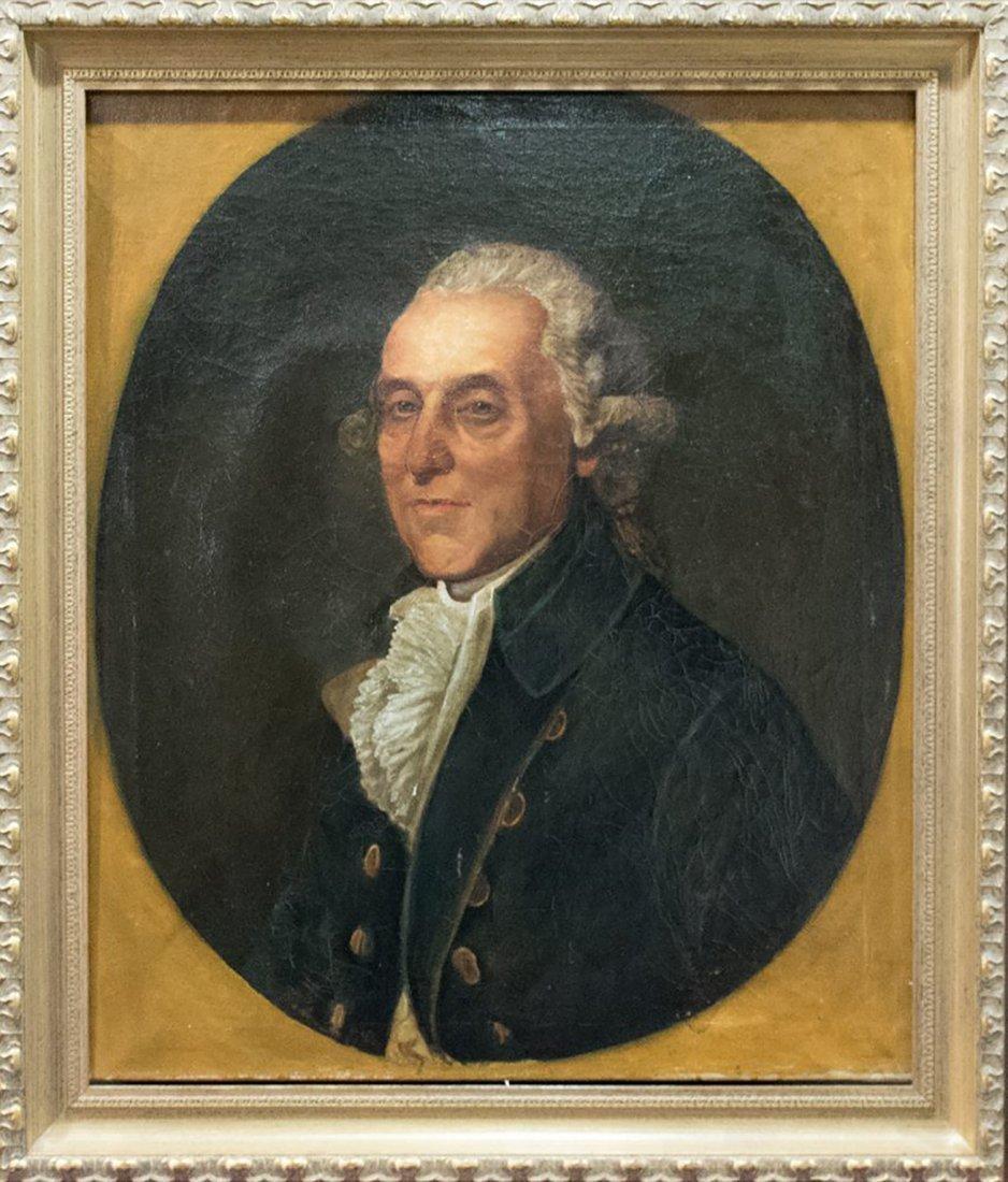 Thomas Beach 18th Century Portrait Oil Painting