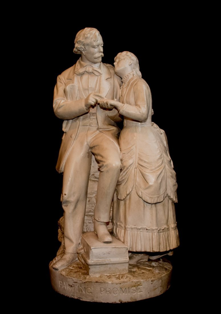 19th Century John Rogers Sculpture