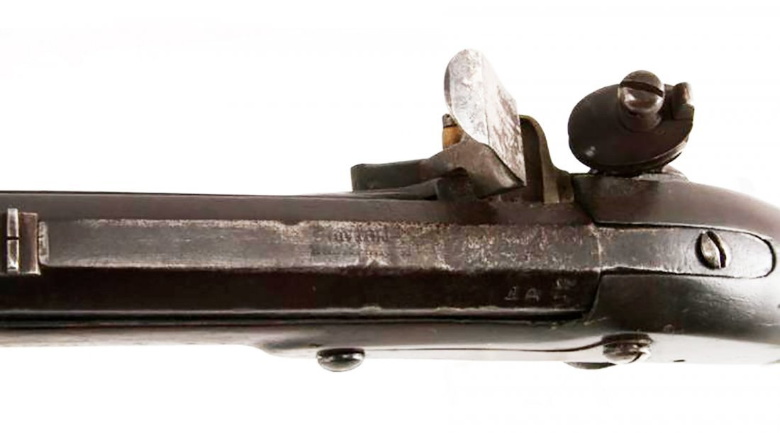 Rare U.S. Model 1814 Derringer (Phil) Flintlock Rifle - 9
