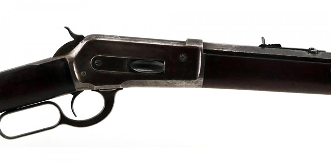 Model 1886 Winchester 40-82 Lever Action Rifle - 3