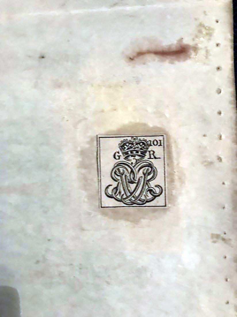 Rare & Unique Original 1767 Indenture on Vellum - 6
