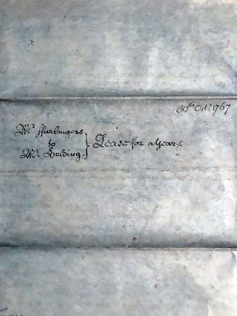 Rare & Unique Original 1767 Indenture on Vellum - 7
