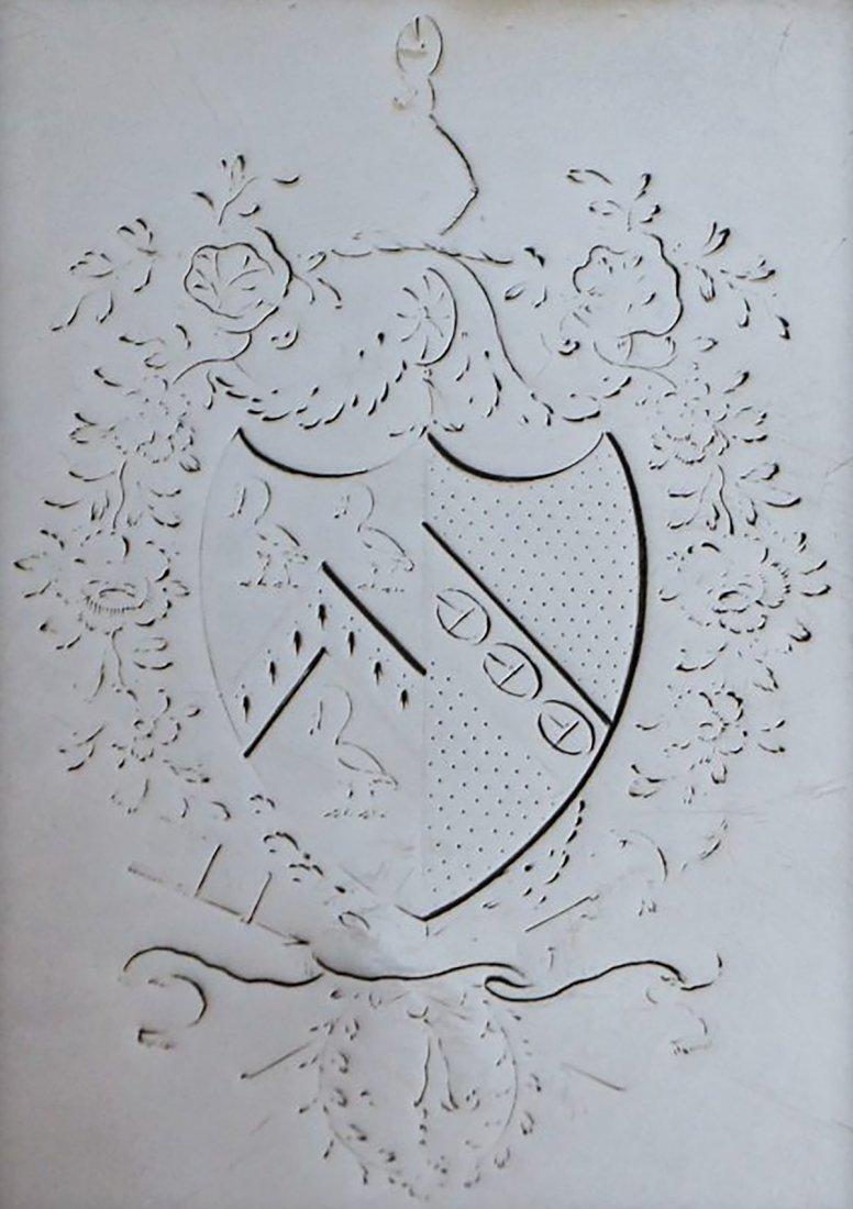 George III Presentation Sterling Silver Salver 1776 - 4