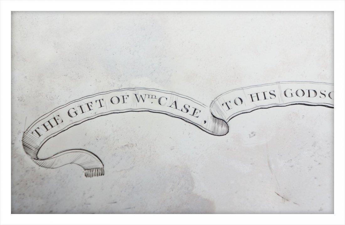 George III Presentation Sterling Silver Salver 1776 - 6