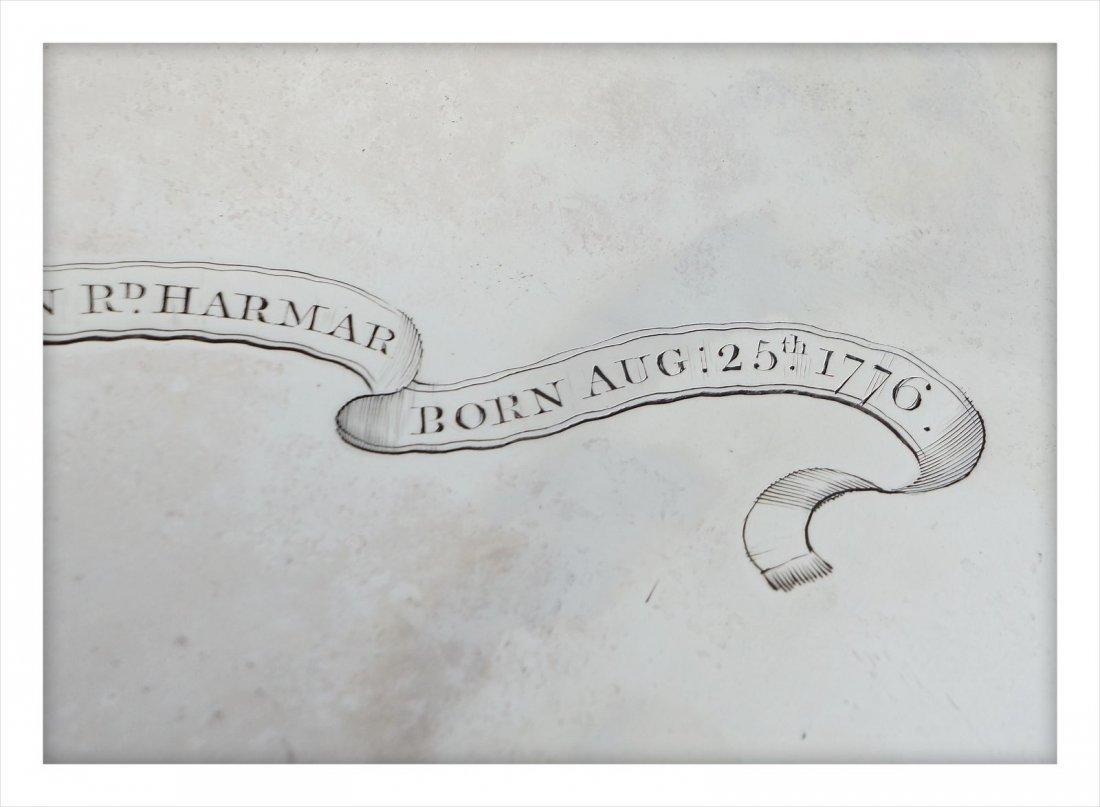 George III Presentation Sterling Silver Salver 1776 - 8