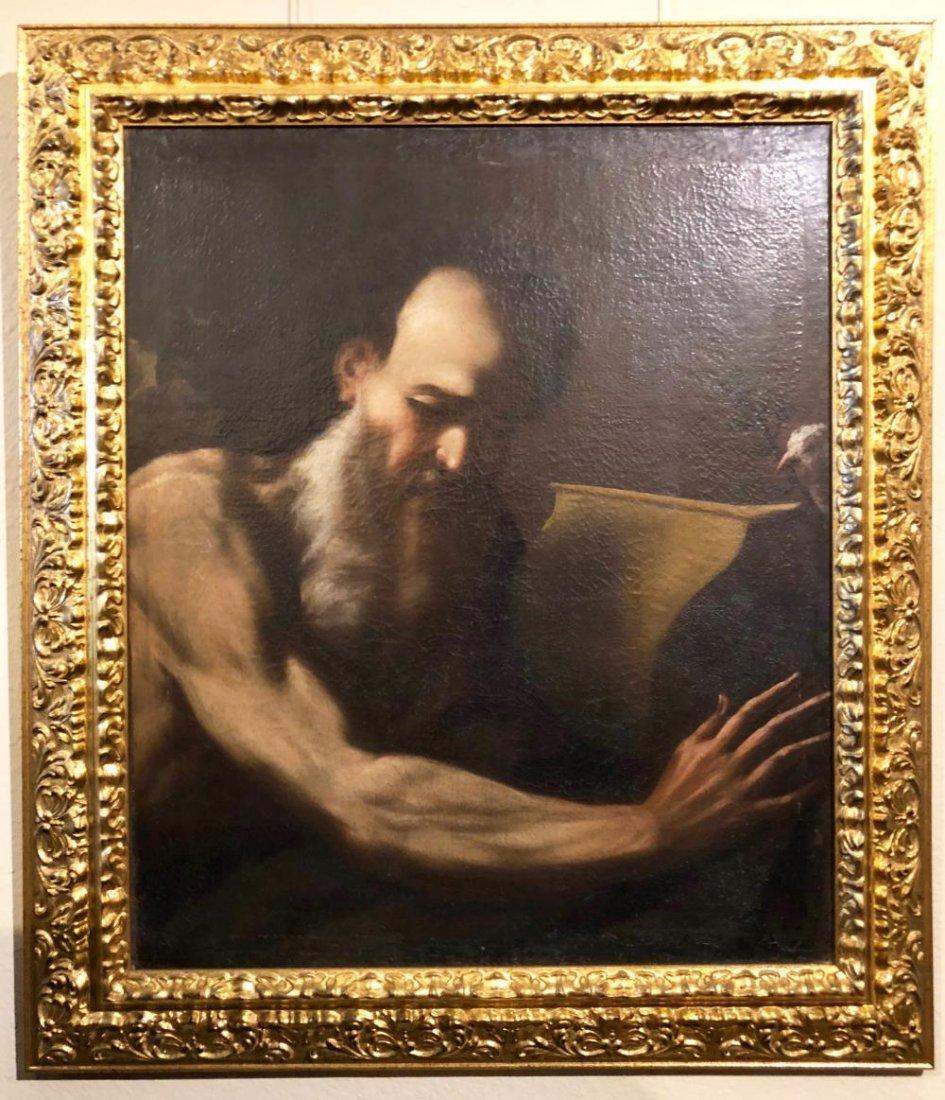 17th Century Baroque Portrait Oil Painting