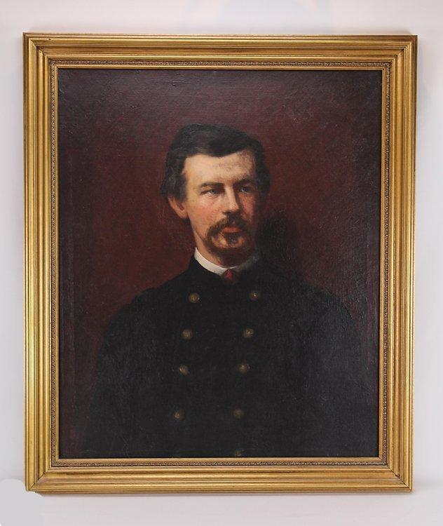 Eastman Johnson Portrait of Colonel Robert Shaw