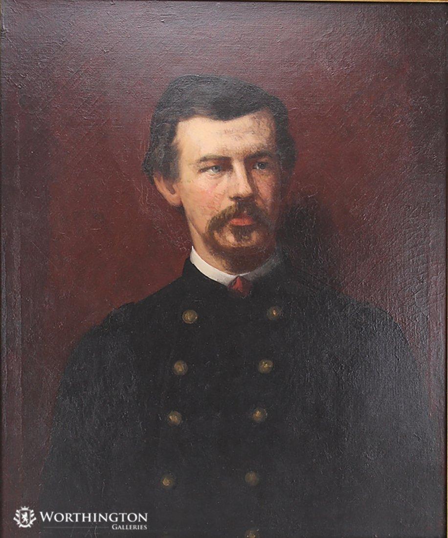 Eastman Johnson Portrait of Colonel Robert Shaw - 2