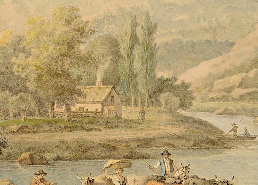 18th Century Henrious Josephus Antonissen Watercolor - 5