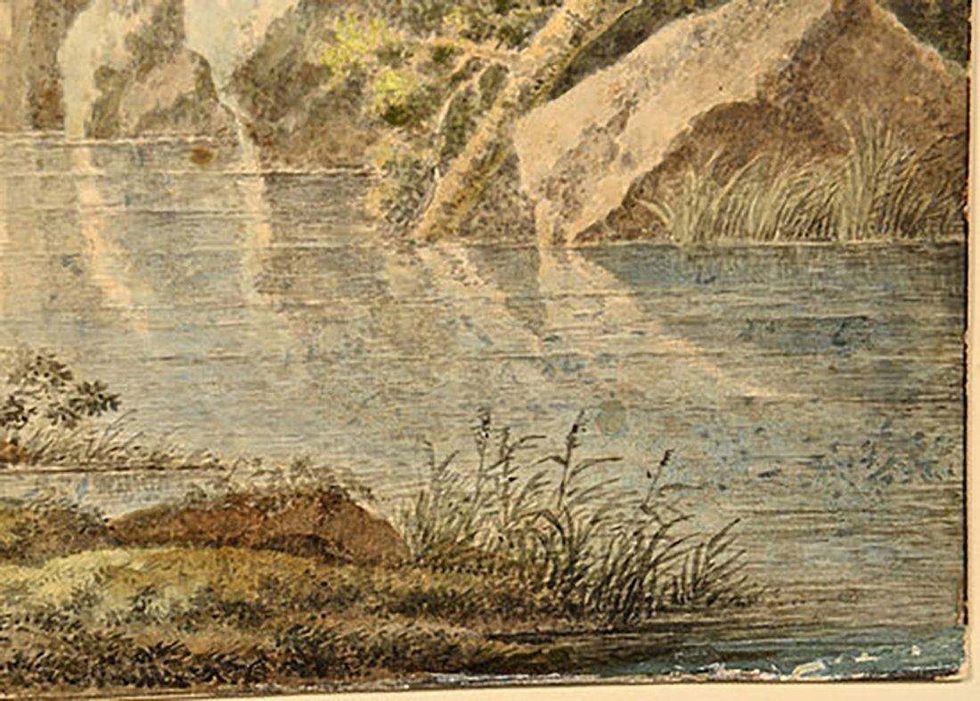 18th Century Henrious Josephus Antonissen Watercolor - 8