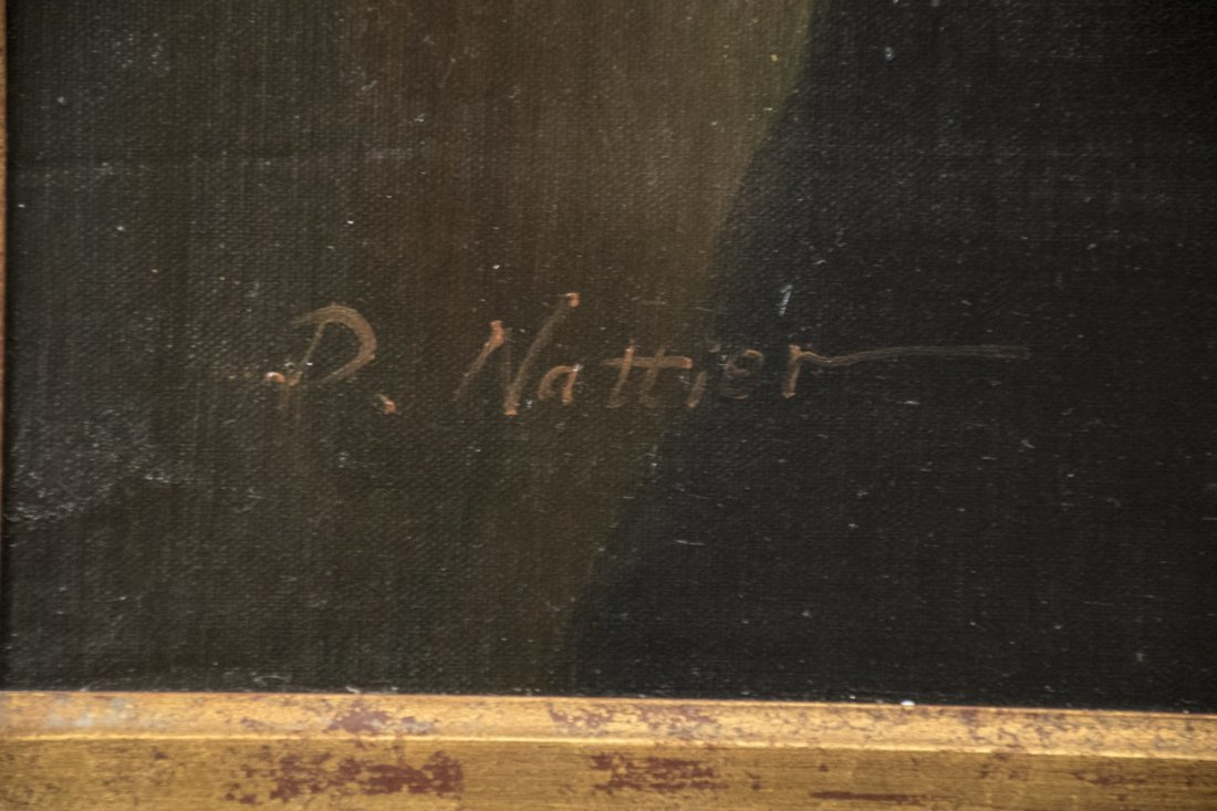 "Original English Oil Painting | ""Portrait of a Scholar"" - 2"