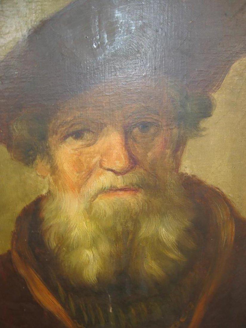 17th Century Portrait Painting | School of Rembrandt - 11