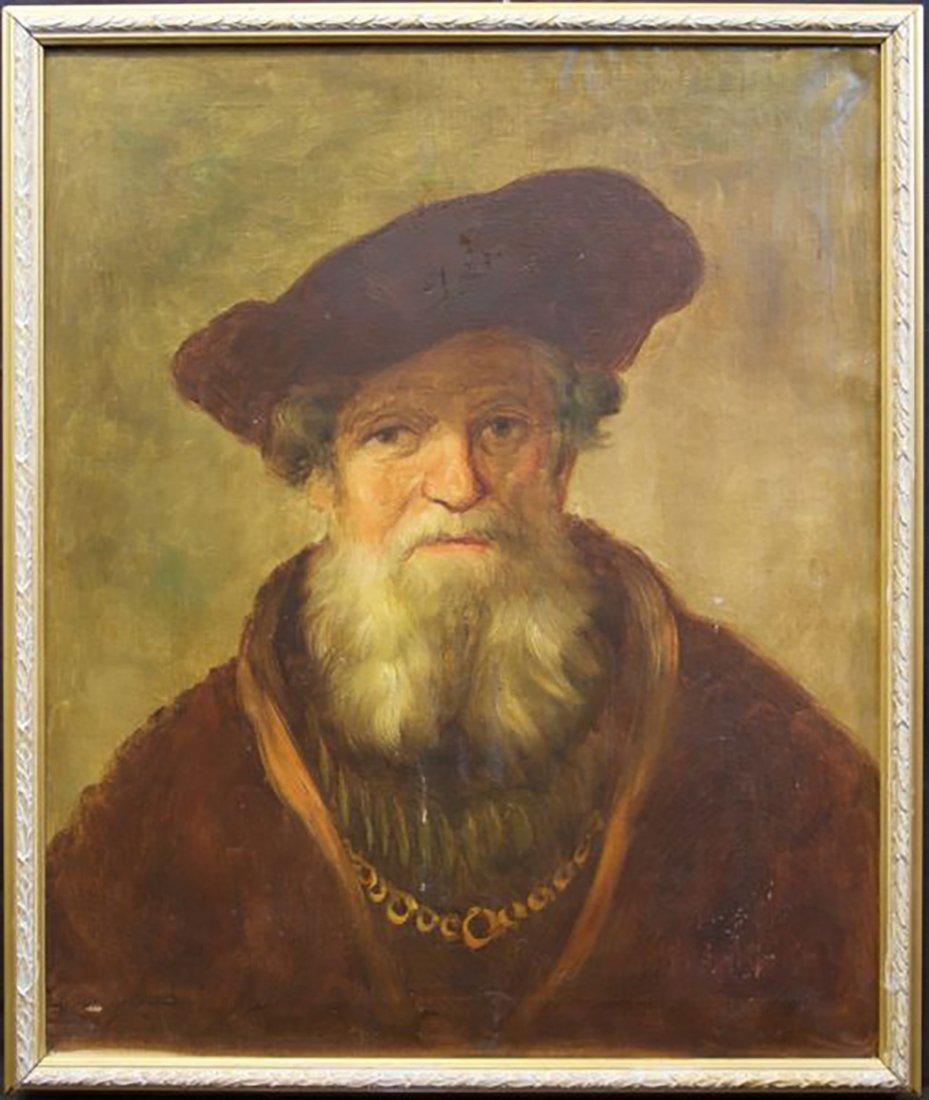 17th Century Portrait Painting | School of Rembrandt