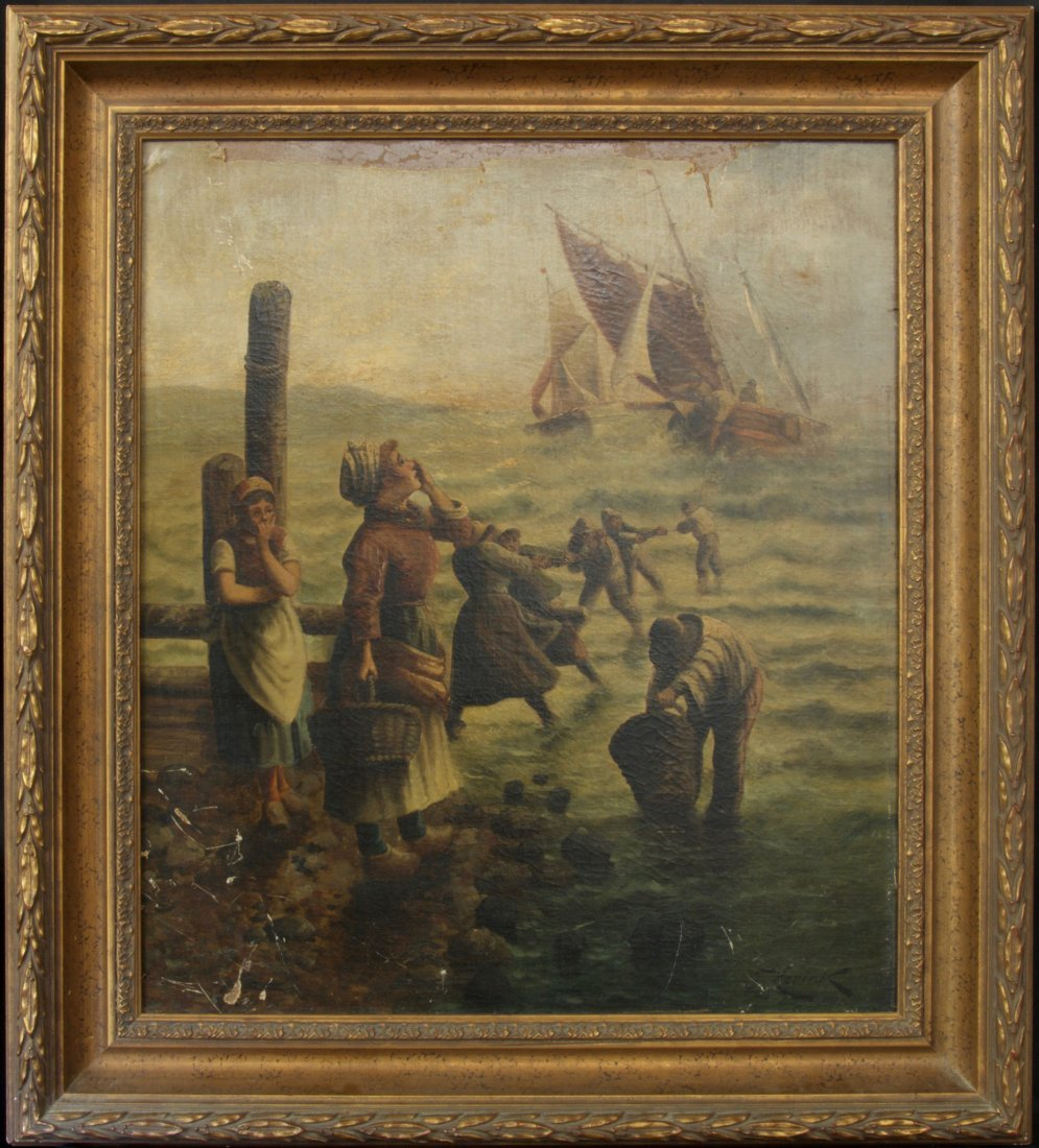 19th Century Oil Painting by Karl Kaufmann