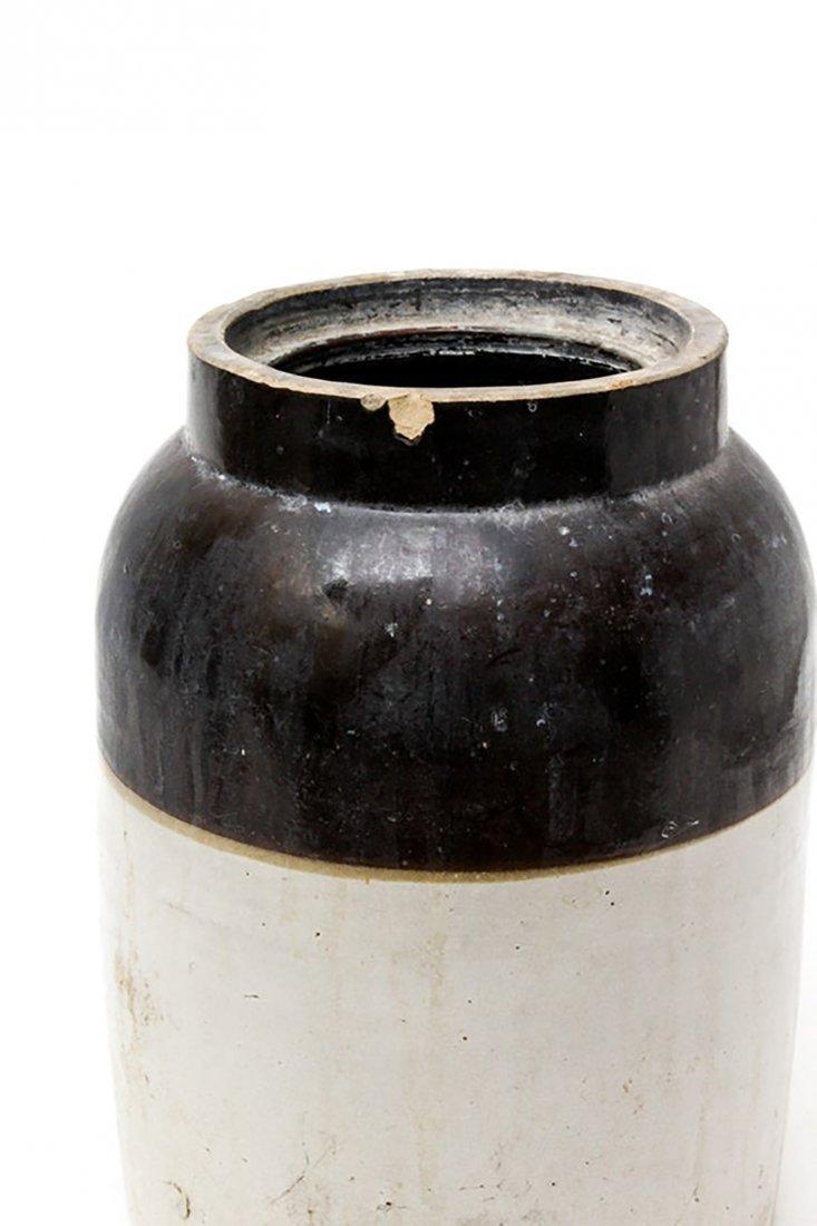 Vintage Two Gallon Stoneware Crock - 4