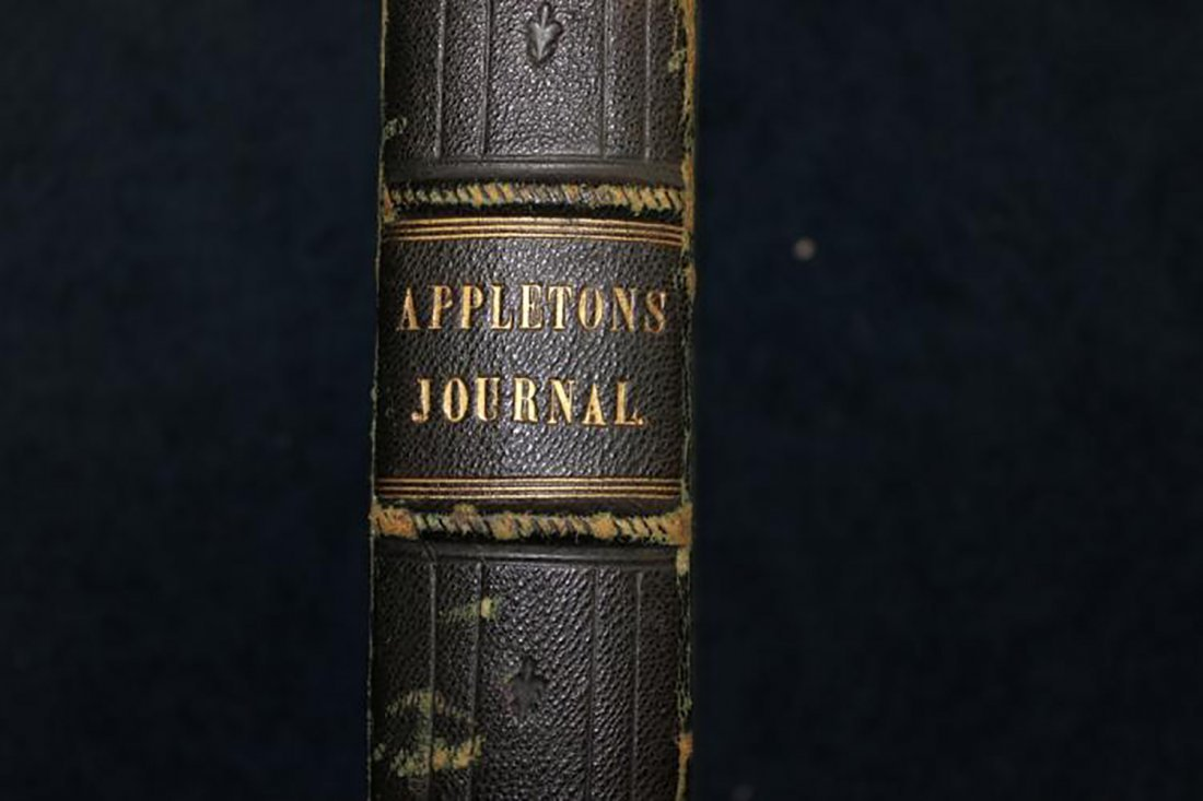 1869 Leather Bound Appletons Journal Vol.1 - 2