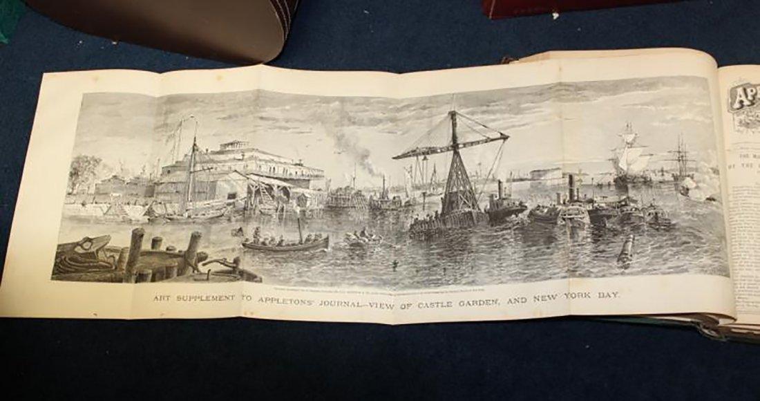 1869 Leather Bound Appletons Journal Vol.1 - 5