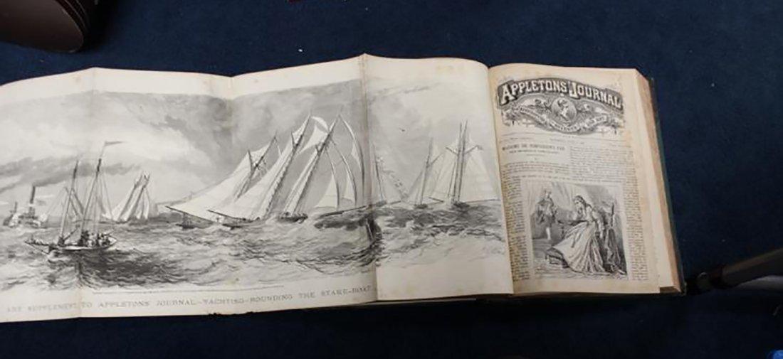 1869 Leather Bound Appletons Journal Vol.1 - 6