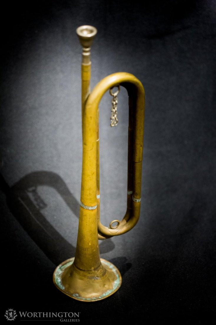 Rexcraft US Regulation M1892 Brass Military Bugle