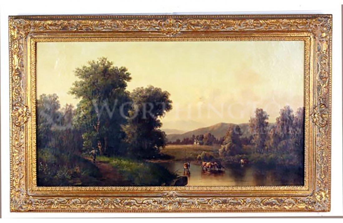 19th Century Oil Painting - British School