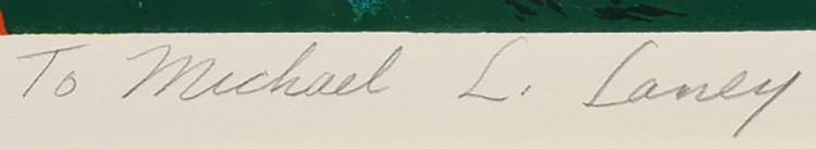 20th Century Leroy Neiman Serigraph - 6