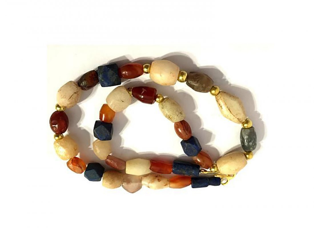 Beautiful Ancient Roman Agate Necklace