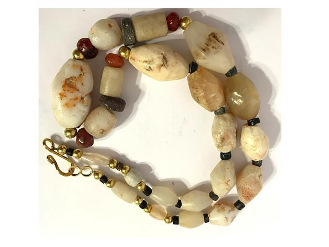 Rare Ancient Roman Agate Necklace